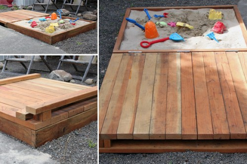 eco-friendly sandbox (via athome)