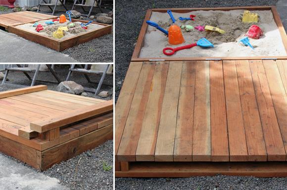 outdoor sandboxes for your kids eco friendly sandbox via athome