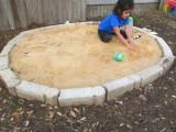 brick sandbox