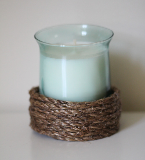 simple rope candle holder (via 52weeksproject)