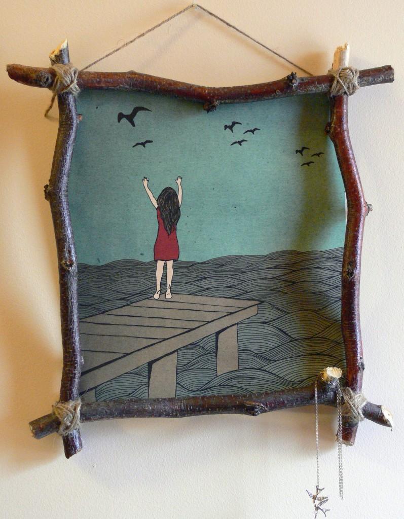 twine and yarn frame via angelaosborn