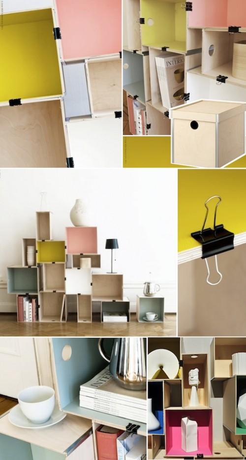 Nordic stackable shelves (via knockonwood)