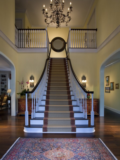 Picture of cool stair carpet runners - Classy images of cool staircase design ...