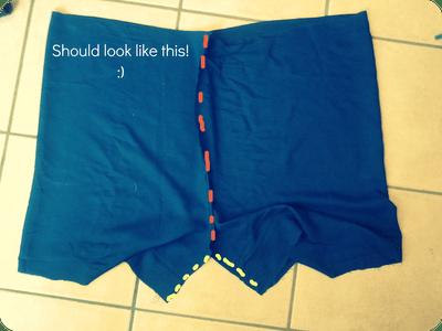 easy flowy shorts (via muchmorethanthebirds)