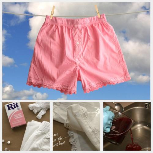 lace sleep shorts (via trinketsinbloom)