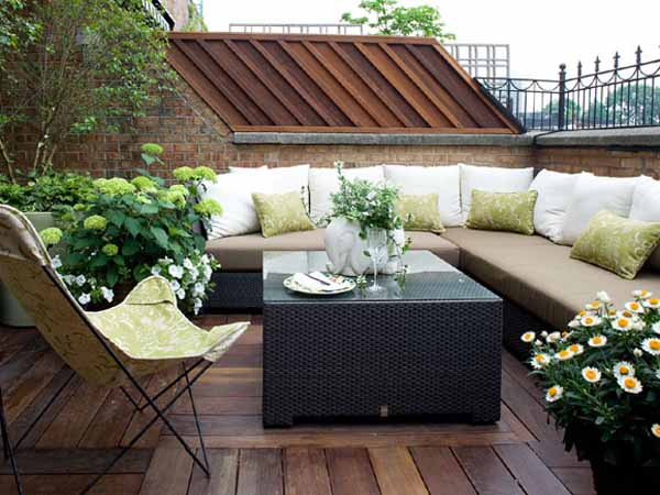 Cool Summer Terraces