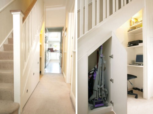 5 Cool Under Stair Storage Ideas