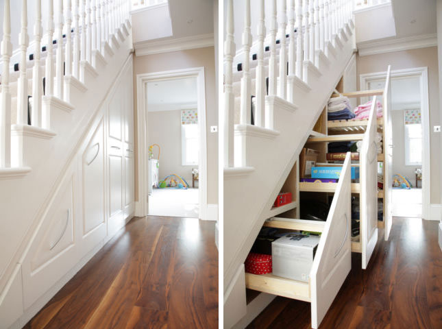 cool under stairs storage ideas shelterness
