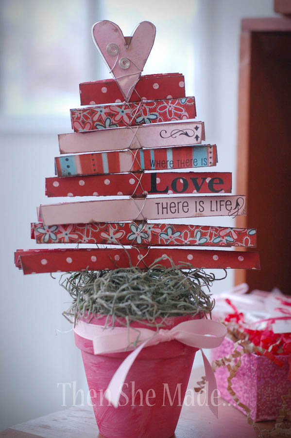 5 Cool DIY Valentine's Day Trees