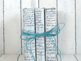 vintage book decoration
