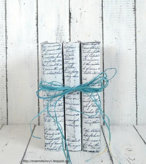 vintage book decoration (via dreamsfactory1)