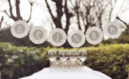 doily bunting (via thepaperstraw)