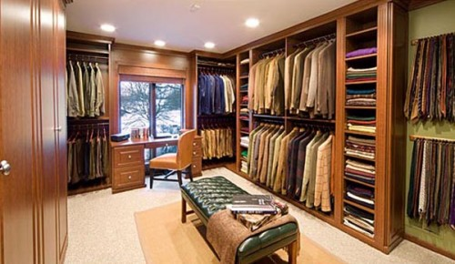 Some Men Can Even Work In Their Closets Because They Are Really Large