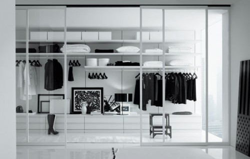 White Walk In Closet 75 cool walk-in closet design ideas - shelterness