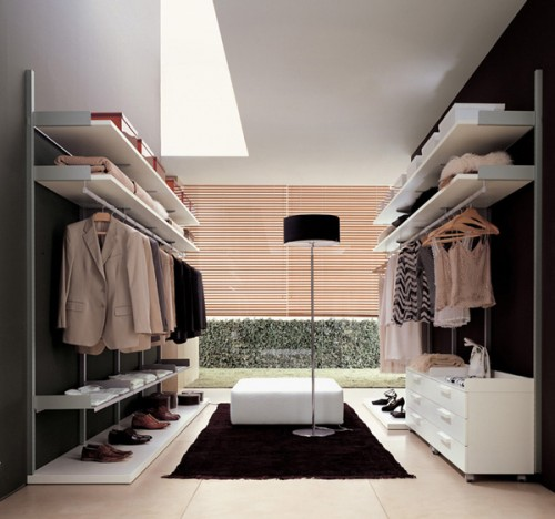 floor to ceiling window make any walk in closet look gorgeous