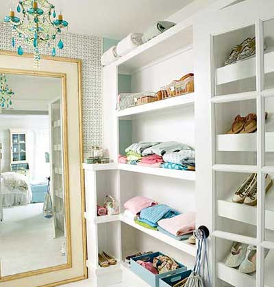 cool walk in closets - Small Walk In Closet Design Ideas