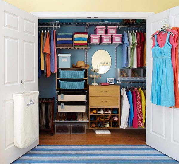 Cool walk in closets shelterness - Walk in closet paint ideas ...