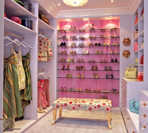 girlish walk-in design