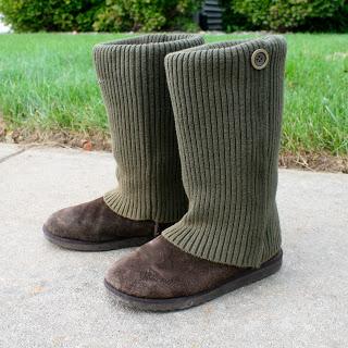 no sew sweater boots (via laviediy)