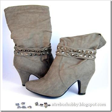 trendy studded boots (via atreborhobby)