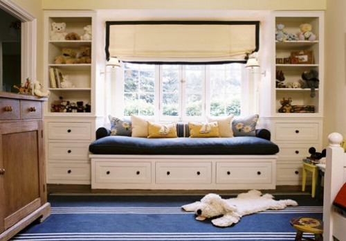 Cool Window Seats And Bookshelves
