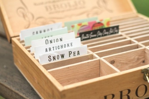 diy wine crates seed box