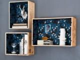 diy wine crates display shelves