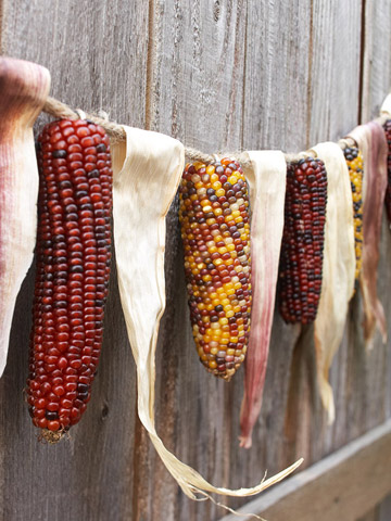 Corn Thanksgiving Garland