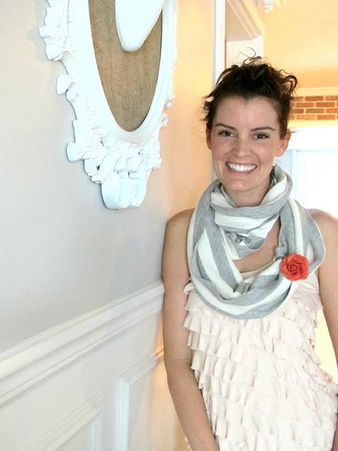 striped fall scarf (via dreambookdesign)