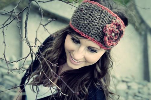 knitted headband (via ninthandbird)