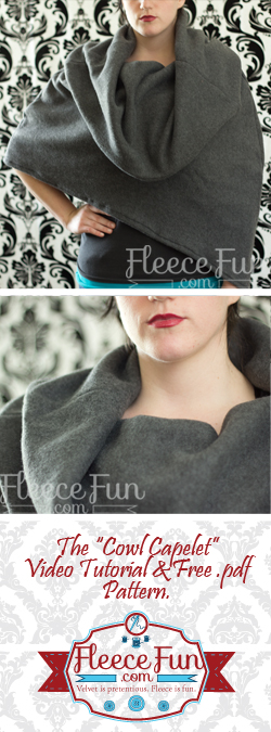 cowl capelet (via fleecefun)