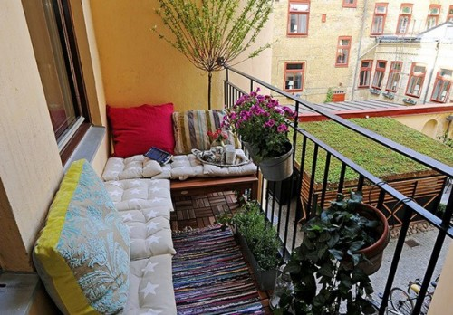 48 Cozy Balcony Decorating Ideas Shelterness Impressive Apartment Balcony Decorating Ideas Model