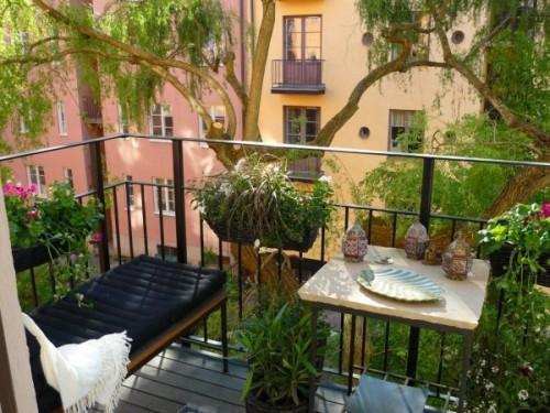 Cozy Balconies
