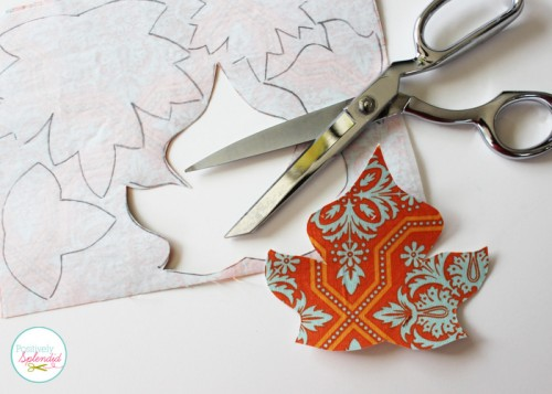 Cozy Diy Appliqued Fall Leaf Pillow