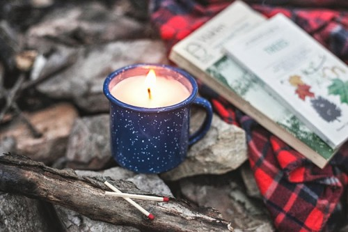 Cozy Diy Camp Mug Candle