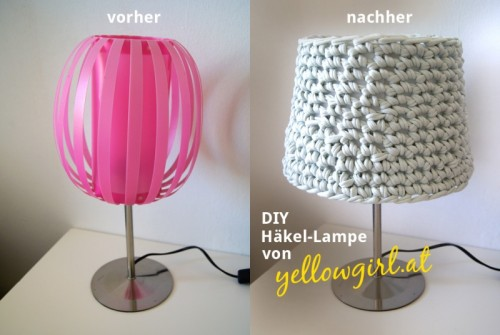 Cozy Diy Crocheted Lampshade