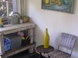Cozy Potting Corner Of A Back Porch