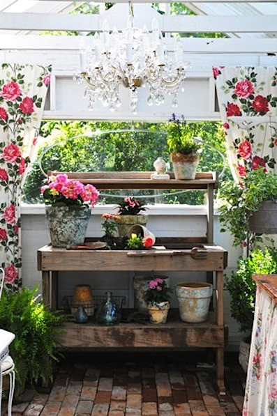 Cozy Potting Shed