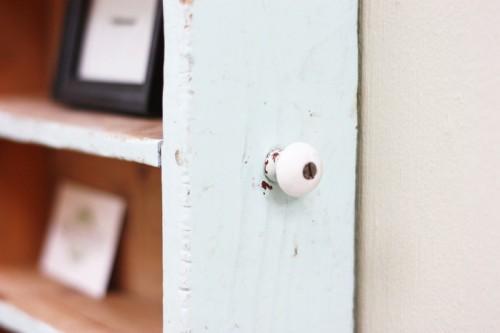 Cozy Shabby Chic DIY Drawer Shelf