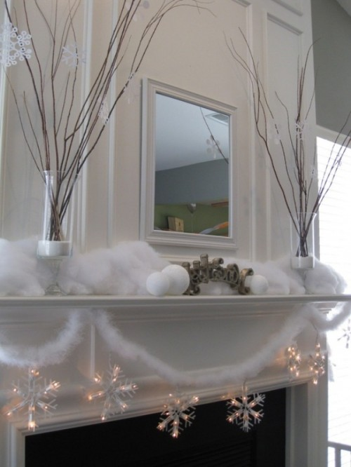 44 Cozy Winter Mantle D 233 Cor Ideas Shelterness