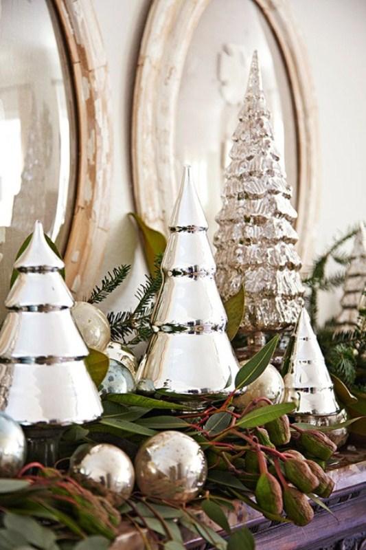 Storage Basket Christmas Mantel Decor
