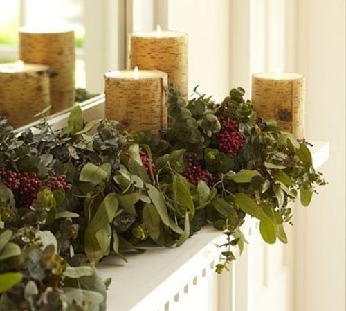 44 Cozy Winter Mantle Decor Ideas Shelterness