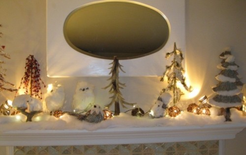 Cozy Winter Mantle Decor Ideas