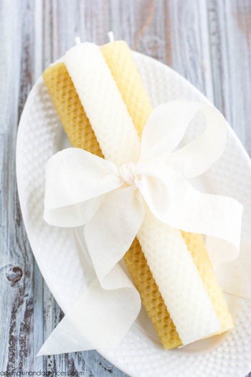 Creative And Easy DIY Beeswax Candles