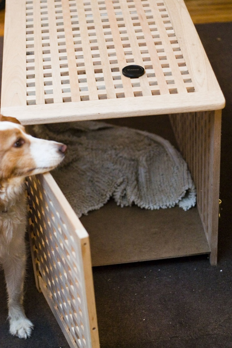 tasteful dog crate