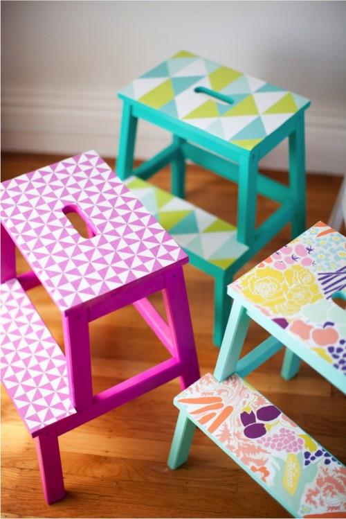 8 creative and simple diy ikea bekvam stool makeovers