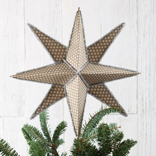 star tree topper (via freshstylemag)