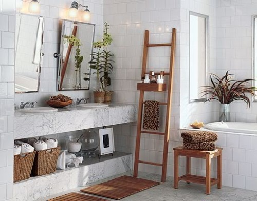 20 Creative Bathroom Storage Ideas
