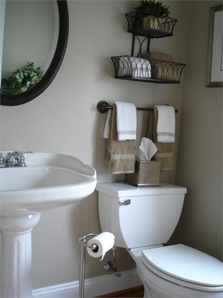 Brilliant Top 10 DIY Ideas For Bathroom Decoration