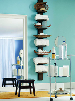 Bathroom on 20 Creative Bathroom Storage Ideas   Shelterness